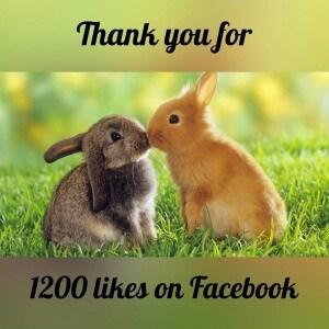 Thanksfor1200likes
